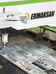 Ermaksan announced the production of servo press (servo drive punch press) with the claim being the first Turkish punch press product...